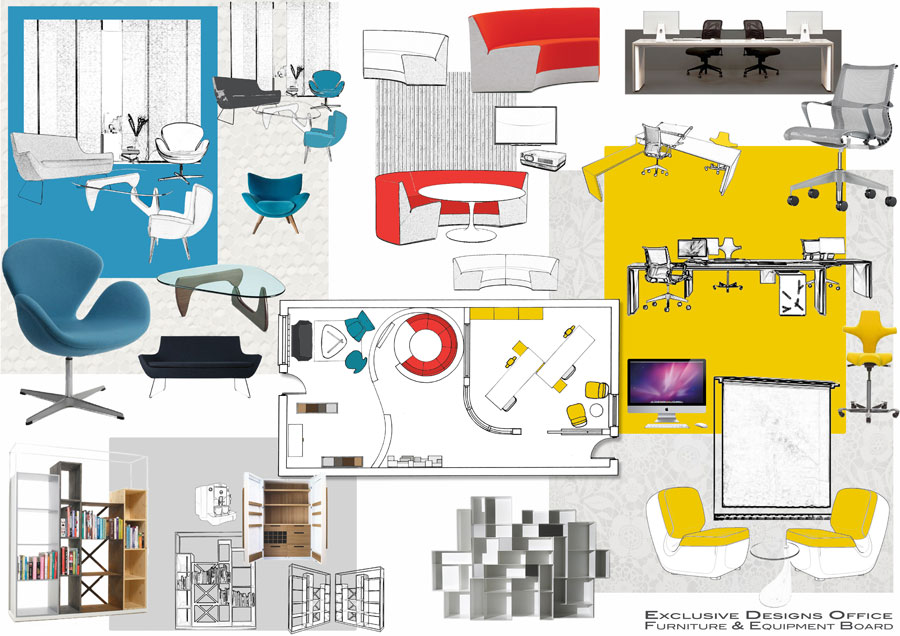 Image Boards – Design Ideas for a new office space for young ...