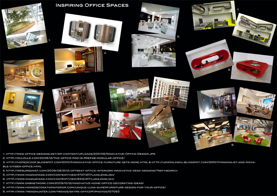Image Boards U2013 Design Ideas For A New Office Space For Young Design Company